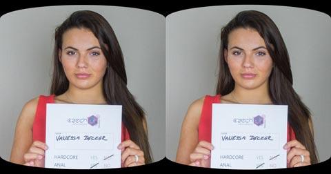 Czech Lips - Czech VR Casting #17 Vanessa Decker | Trailer for Oculus Rift VR